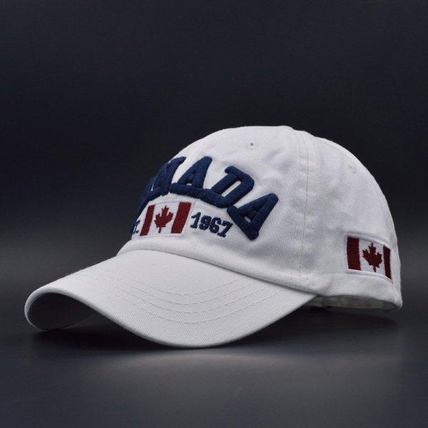 Cotton Gorras Canada Baseball Cap Flag Of Canada Hat Snapback Adjustable Mens Baseball Caps Brand Snapback Hat 4