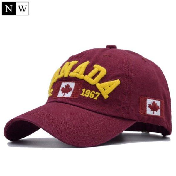 Cotton Gorras Canada Baseball Cap Flag Of Canada Hat Snapback Adjustable Mens Baseball Caps Brand Snapback Hat 11