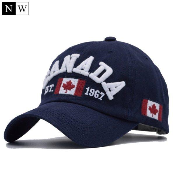 Cotton Gorras Canada Baseball Cap Flag Of Canada Hat Snapback Adjustable Mens Baseball Caps Brand Snapback Hat 1