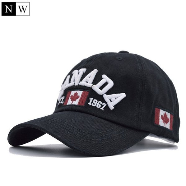 Cotton Gorras Canada Baseball Cap Flag Of Canada Hat Snapback Adjustable Mens Baseball Caps Brand Snapback Hat 7