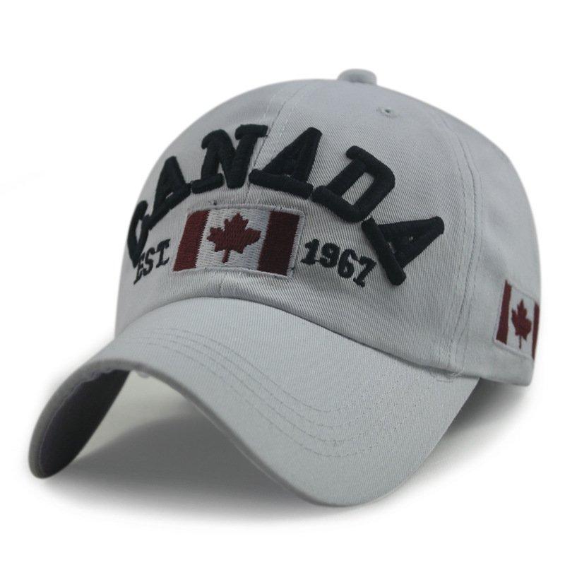 00a507578da New Arrivals Cotton Gorras Canada Cap Flag Of Canada Hat Snapback  Adjuatable Mens Baseball Caps Brand ...