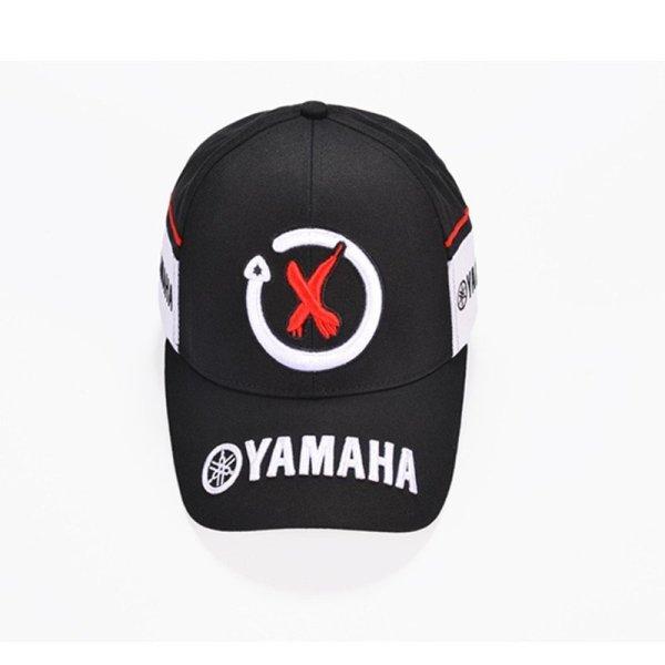 New Black Red F1 racing cap Car Motocycle Racing MOTO GP VR 99 rossi Embroidery hiphop cotton trucker Yamaha Baseball Cap Hat 2