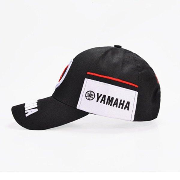New Black Red F1 racing cap Car Motocycle Racing MOTO GP VR 99 rossi Embroidery hiphop cotton trucker Yamaha Baseball Cap Hat 3