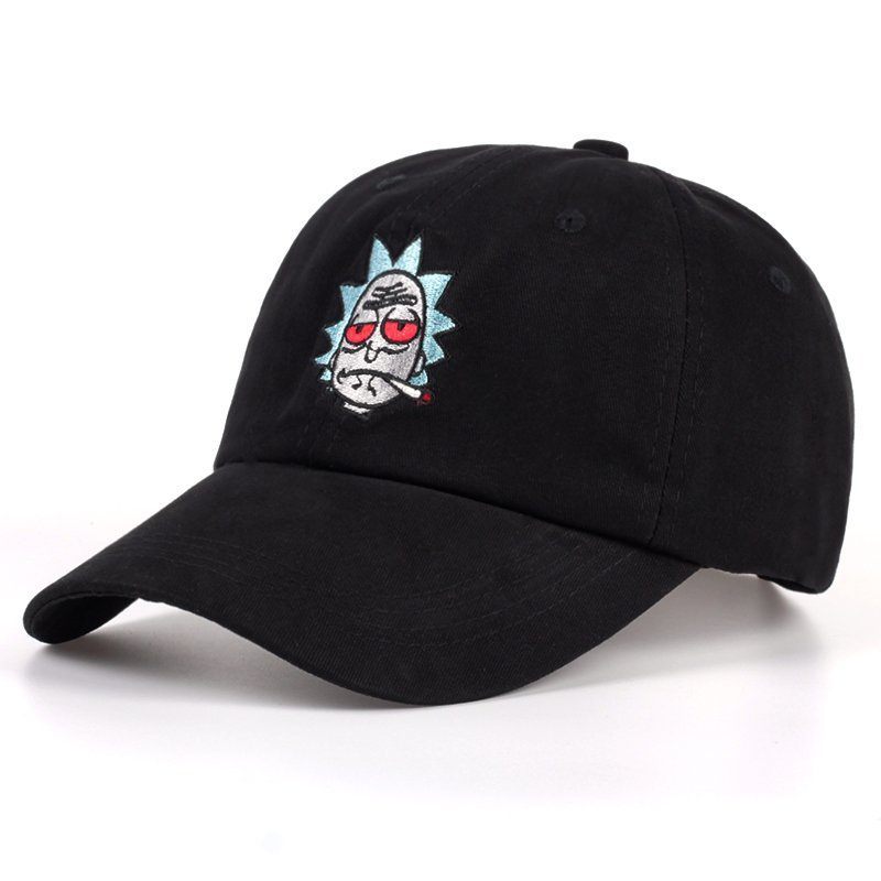 f13f6180837 Rick and Morty Hats The New US Animation Rick Caps Dad Hat ...