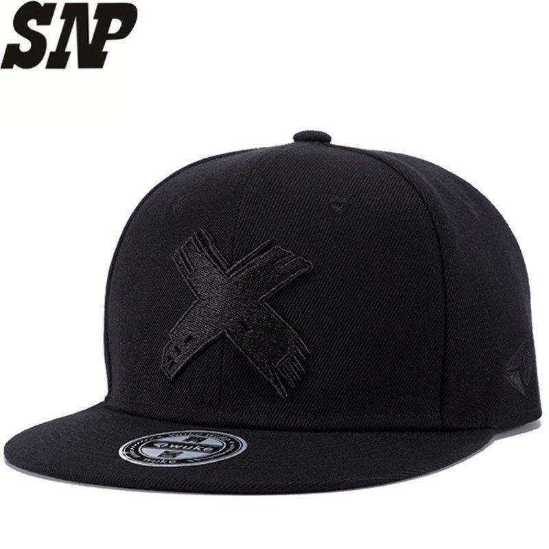 SNP New High Quality Men and Women Snapback cap X embroidery flat ... 08e23dac588c