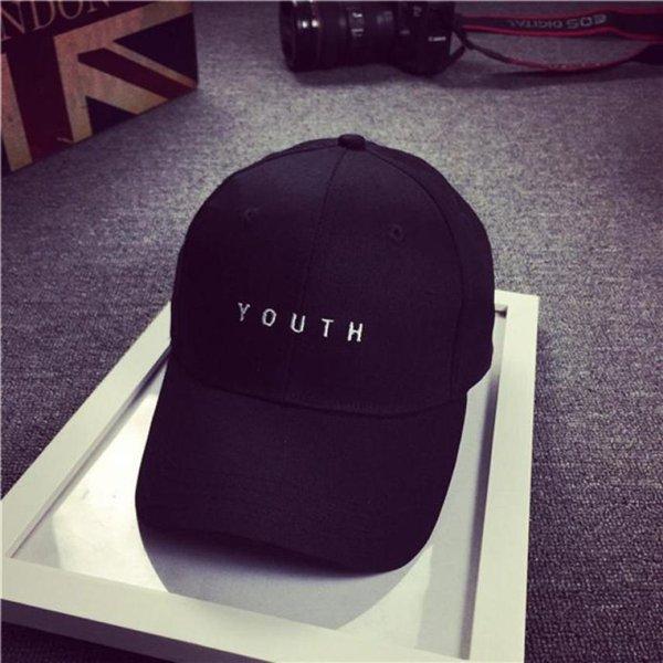 Brand New Cotton Mens Hat Youth Letter Print Unisex Women Men Hats Baseball Cap Snapback Casual Caps 16