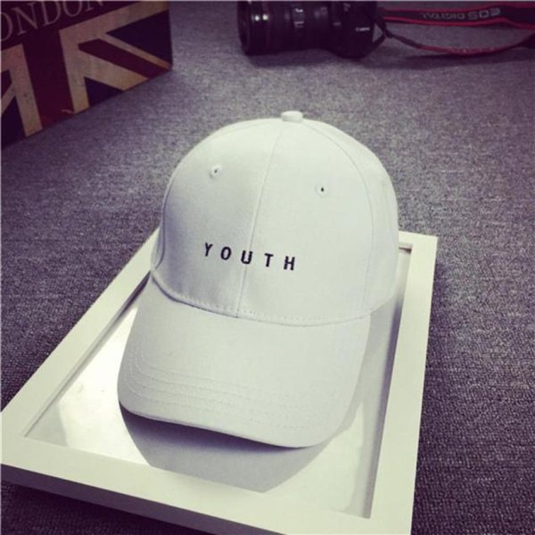 Brand New Cotton Mens Hat Youth Letter Print Unisex Women Men Hats Baseball Cap Snapback Casual Caps 7
