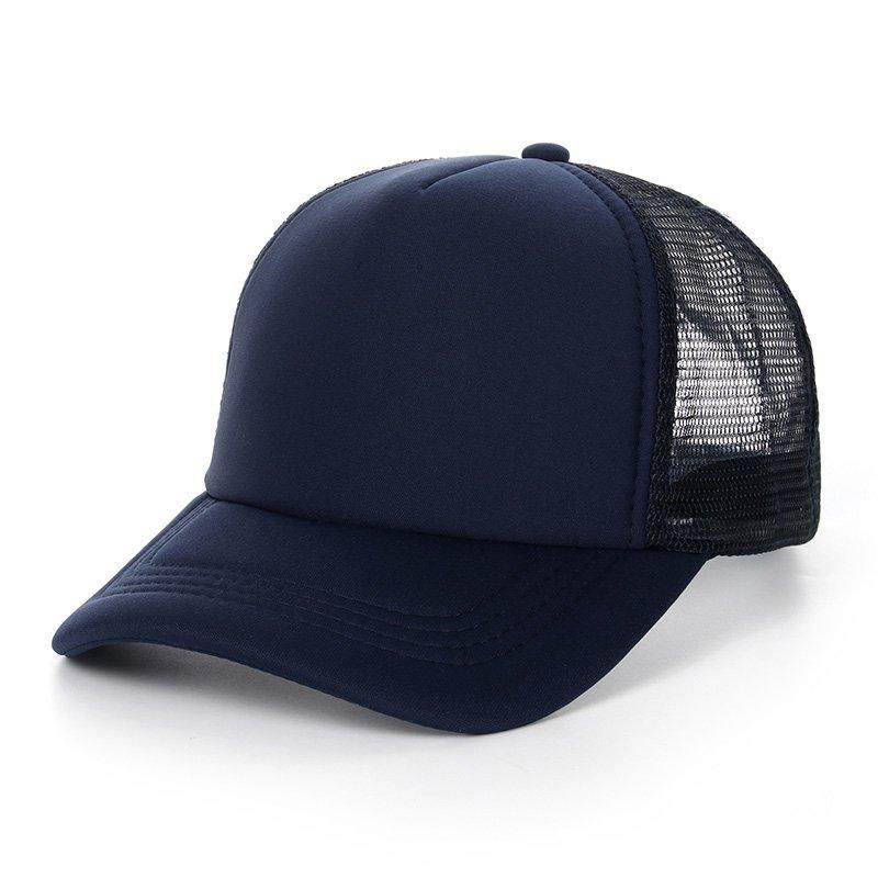 6ab209d3861 Summer Baseball Cap Men Cotton Solid Color Fitted Snapback Hats Caps Men  Women Bone Mesh ...