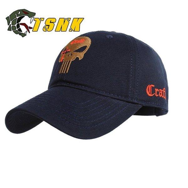 TSNK Cotton Baseball Cap branded women men Tactical army caps Seals Punisher American Sniper baseball hat 2