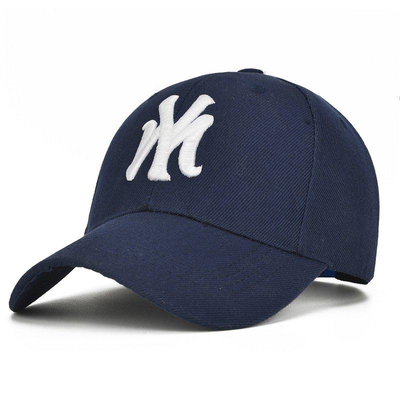 f166204b648 Unisex Cotton Baseball Cap NY Men Women Snapback Cool Sun Hat Letter Adjustable  Casquette ...