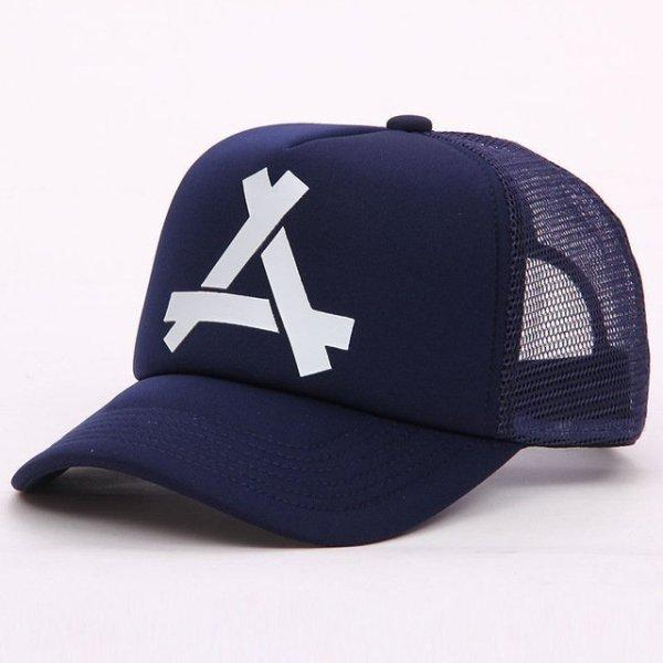 New Summer Baseball Mesh Golf Cap Cap Snapback Hat Fashionable Polo Sports Hiphop Trucker Hat God Men Women Cap 18