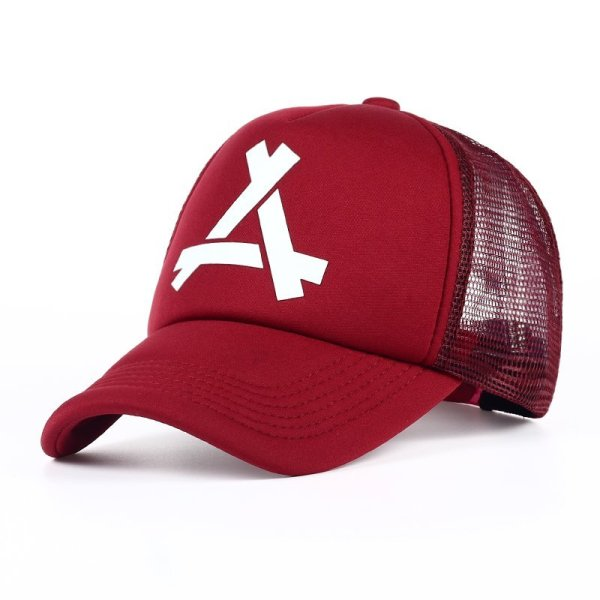 New Summer Baseball Mesh Golf Cap Cap Snapback Hat Fashionable Polo Sports Hiphop Trucker Hat God Men Women Cap 2