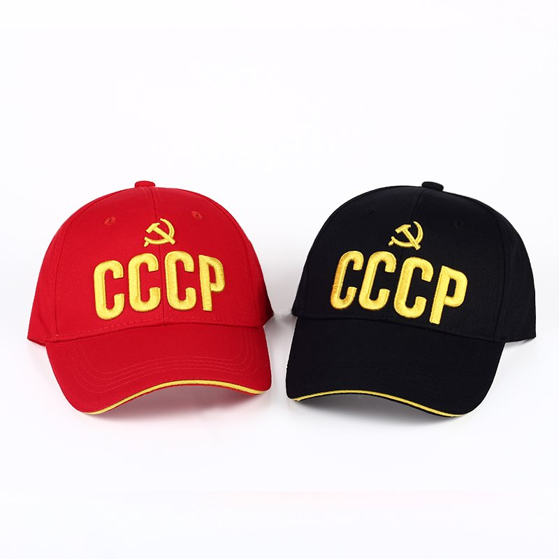 VORON CCCP USSR Russian Hot Sale Style Baseball Cap Unisex black Red ... 68be89670132
