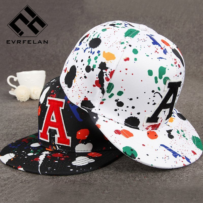 a2216bae472e6 Wholesale Fashion Hip Hop Cap Graffiti Brand Snapback Cap Men Women ...