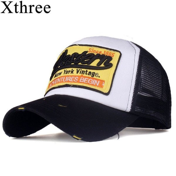 [Xthree]summer snapback hat baseball cap mesh cap cheap cap casquette bone hat for men women casual gorras 1
