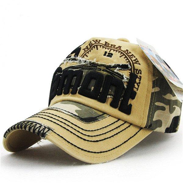 Xthree unisex camouflage baseball cap swag cap Casual Outdoor Sport ... cfae0d952889