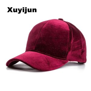 Xuyijun Baseball Caps with no embroidery strap Simple Suede back cap and hat  for men and women s hat on white 6 colors fdb77e6b006e