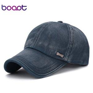 4a593e5c663339 [boapt] classic fashion metal label cotton men baseball caps summer  snapback cap unisex vintage sun hat man fashion women hats