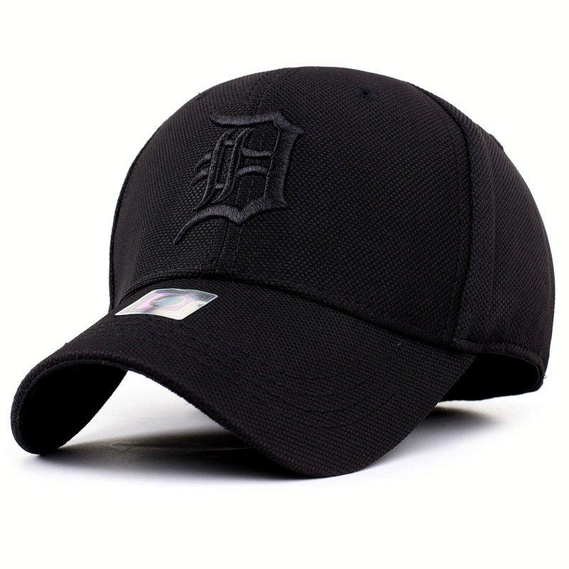502a9cb64f0 solid unisex black baseball cap men snapback hat women cap flexfit fitted  ...