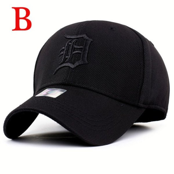 solid unisex black baseball cap men snapback hat  women cap flexfit fitted hat Closed  Male full cap  Gorras Bones trucker hat 10