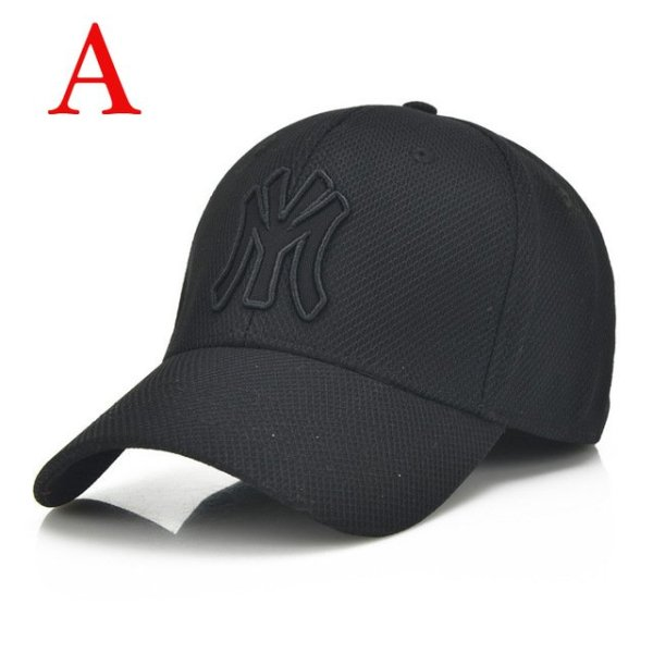 solid unisex black baseball cap men snapback hat  women cap flexfit fitted hat Closed  Male full cap  Gorras Bones trucker hat 7