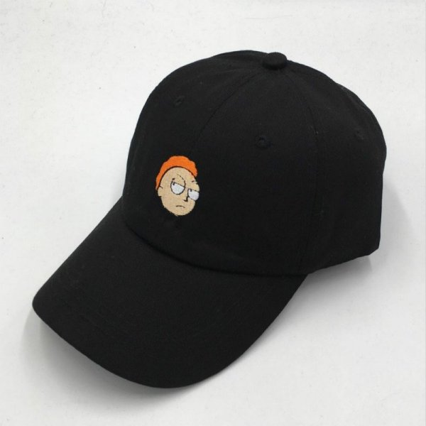 which in shower cotton embroidery Rick and Morty cap cartoon Rick Smoking dad hats for women men hip hop snapback baseball caps 3