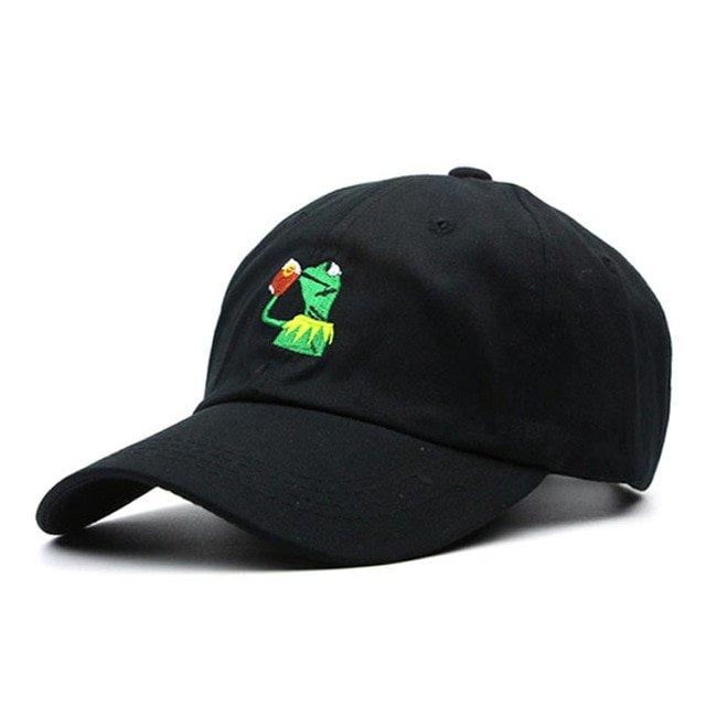 1f69fbb88a6 100% Cotton Rose embroidery hat black cap Blank snapback hip hop dad cap  designer hats men women ...