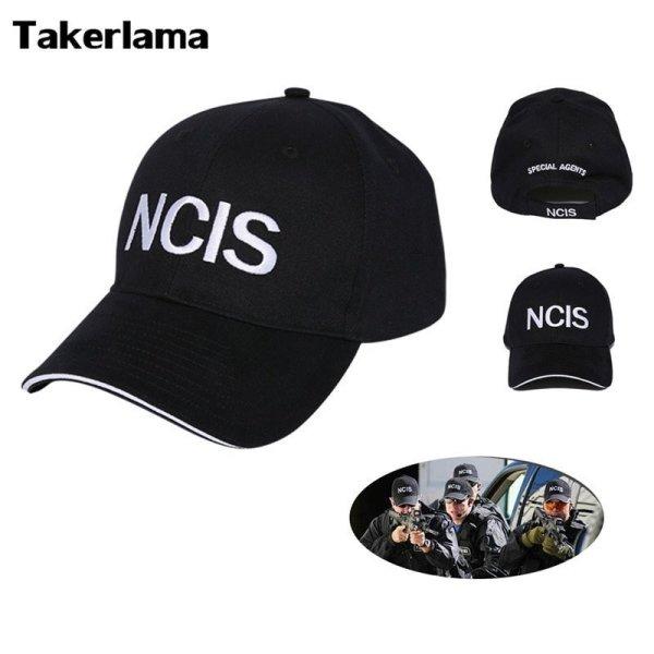 NCIS Cap Embroidery Hat Special Agents Logo Hat Naval Criminal Investigative Service Movie Cap Adjustable Baseball Cap Hat 2