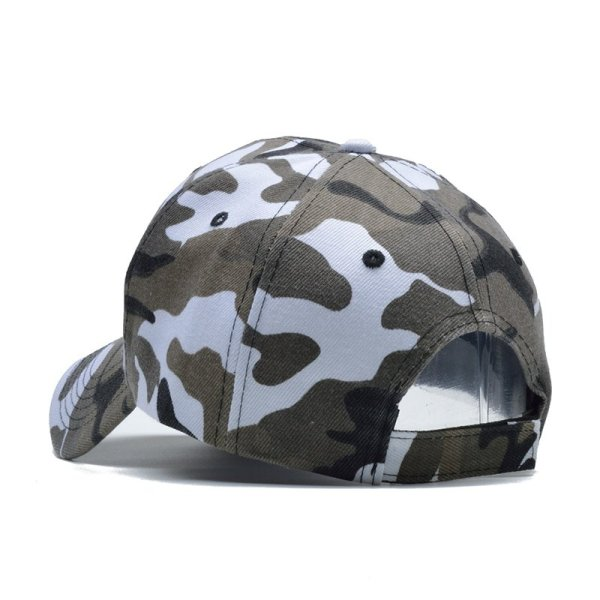 Snow Camo Baseball Cap Men Tactical Cap Camouflage Snapback Hat For Men High Quality Bone Masculino Dad Hat Trucker 6