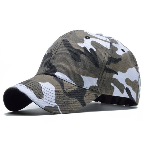 Snow Camo Baseball Cap Men Tactical Cap Camouflage Snapback Hat For Men High Quality Bone Masculino Dad Hat Trucker 7