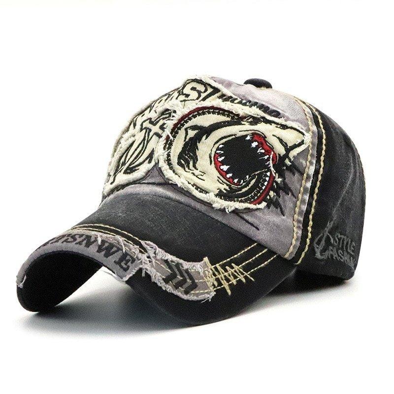 5156be1e470 Brand shark baseball caps for men women fashion hats casual jpg 800x800 Trucker  hat women fashion