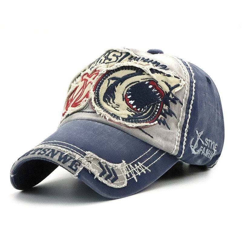 2018 Brand Shark Baseball Caps For Men Women Fashion Hats Casual ... d7df8c44852