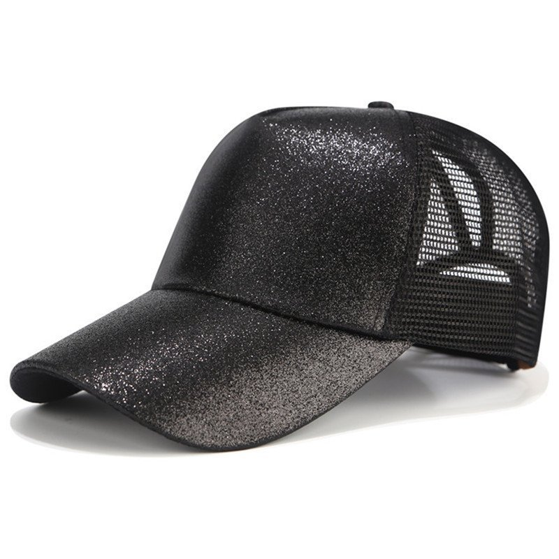 brand new with tags Baseball Hat Women/'s Gray Glitter C.C