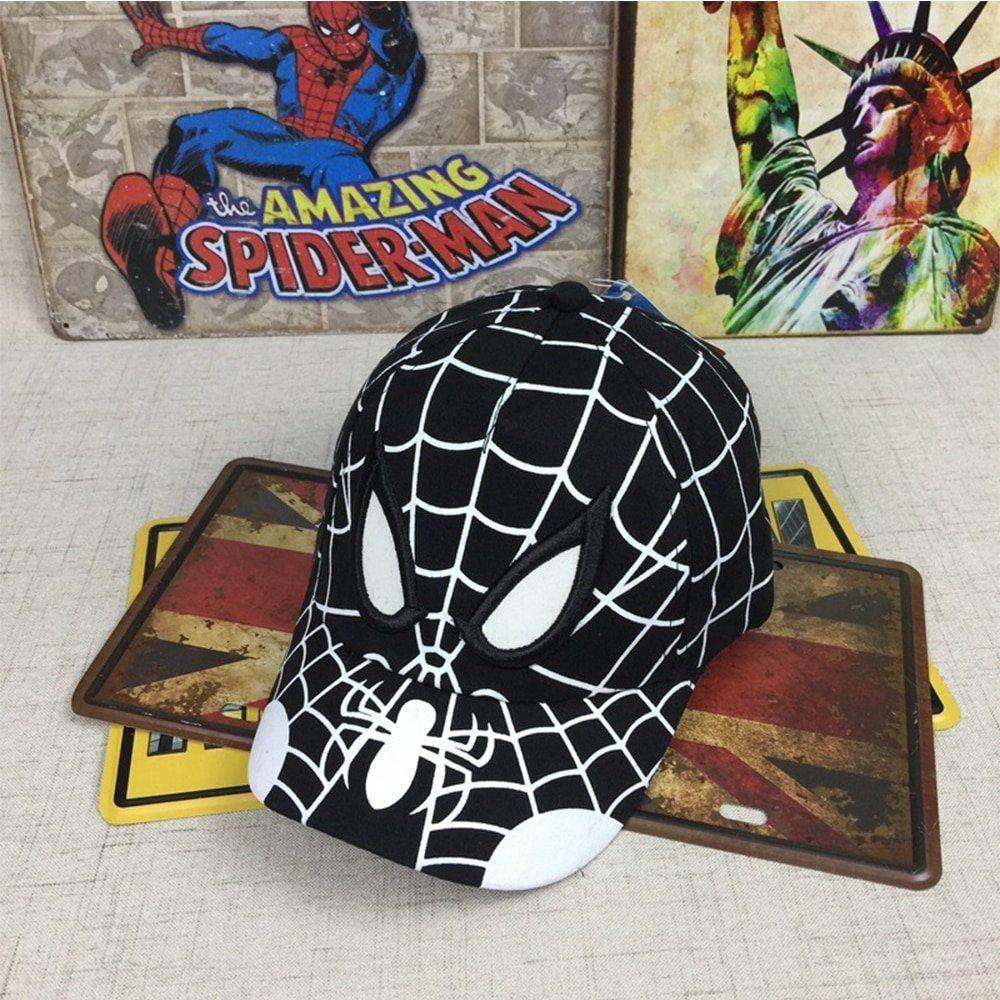 3bd2e0c6679 2018 Spiderman Cartoon Children Embroidery Cotton Baseball Cap kids Boy Girl  Hip Hop Hat ...