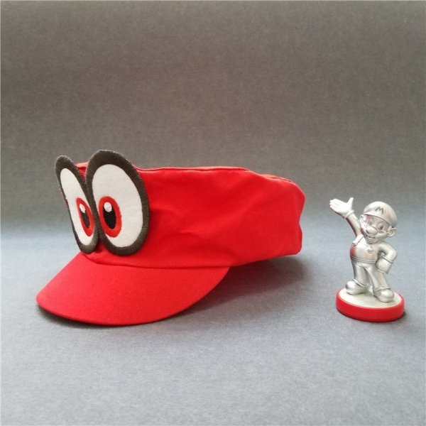 Hot NS Game Super Mario Odyssey COSPALY Hat Adult Child Anime Roleplay Cap 4