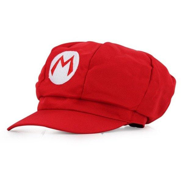 Anime Super Mario Hat Cap Luigi Bros Cosplay Baseball Costume 9