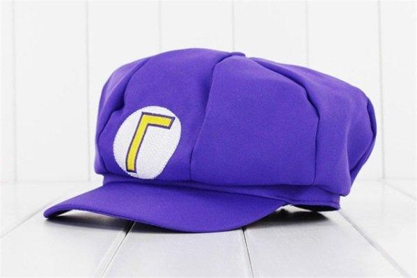 Anime Super Mario Hat Cap Luigi Bros Cosplay Baseball Costume 11