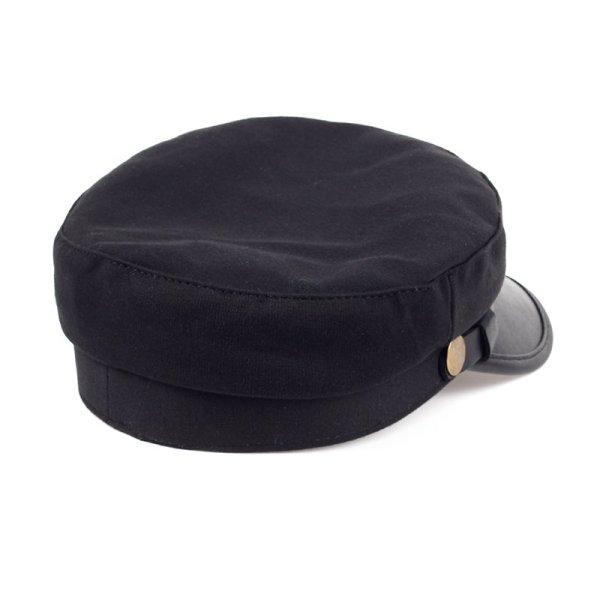 Fashion style Hex hat Unisex Newsboy Cap men Solid color cotton High Quality cowboy gorras planas man Berets Double fabric Casua 5