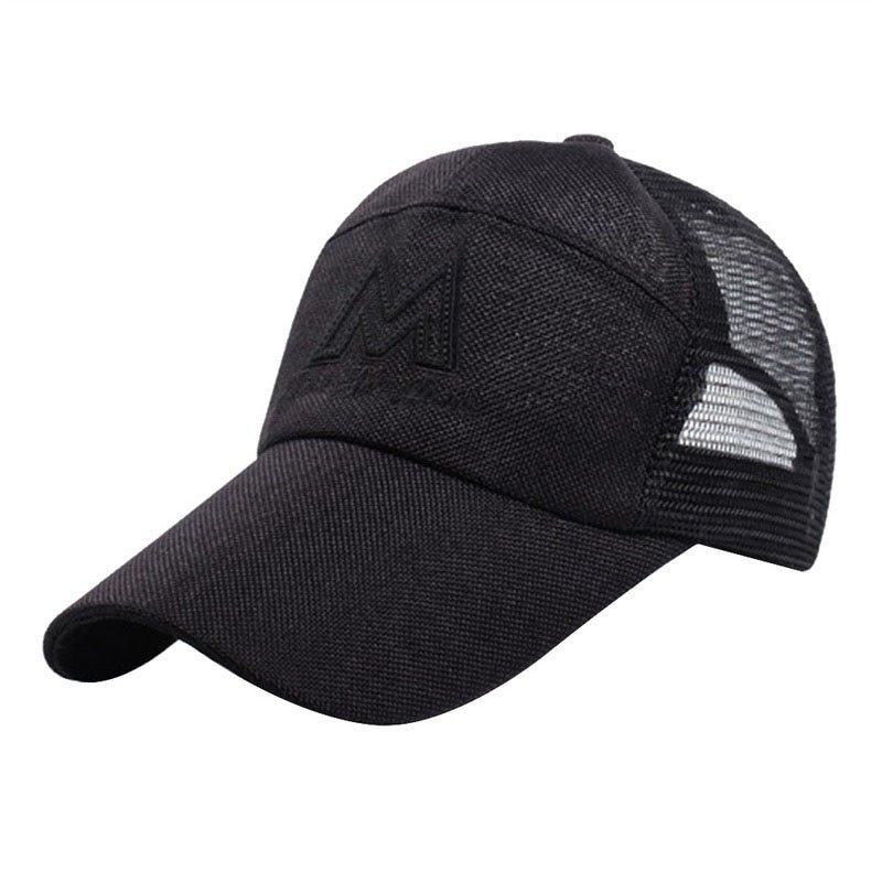 276631c06ef LASPERAL Breathable Sun Hats Snapback Baseball Cap Summer Mesh ...