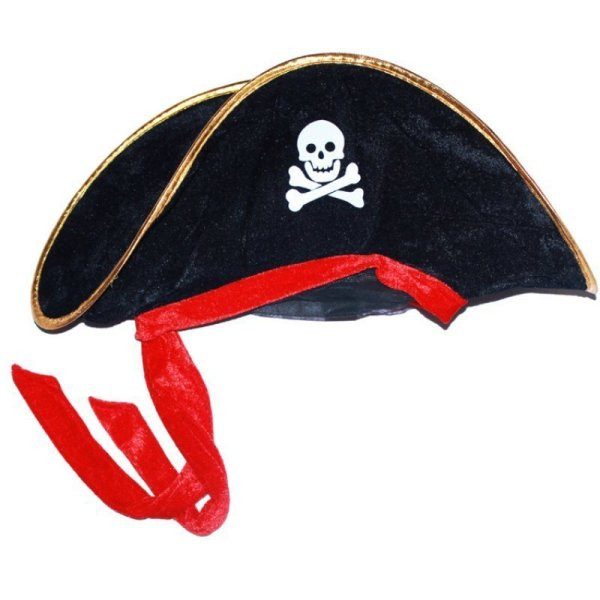 New Arrival Halloween Accessories Skull Hat Caribbean Pirate Hat Piracy Hats Corsair Cap Party Props Cosplay Costume Theater Toy 4