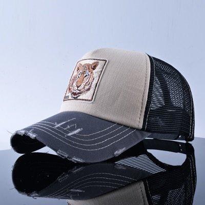 TQMSMY Unisex sun hats for men Hip Hop Hat Breathable Mesh Baseball Caps Women Embroidery panda Snapback caps Summer Gorras 17