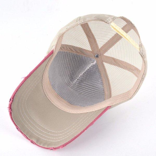 TQMSMY Unisex sun hats for men Hip Hop Hat Breathable Mesh Baseball Caps Women Embroidery panda Snapback caps Summer Gorras 5