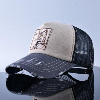 TQMSMY Unisex sun hats for men Hip Hop Hat Breathable Mesh Baseball Caps Women Embroidery panda Snapback caps Summer Gorras 13