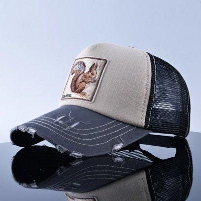 TQMSMY Unisex sun hats for men Hip Hop Hat Breathable Mesh Baseball Caps Women Embroidery panda Snapback caps Summer Gorras 15