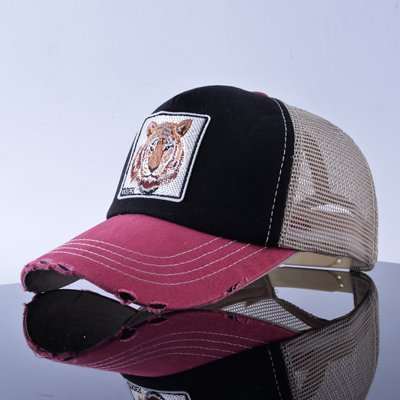 TQMSMY Unisex sun hats for men Hip Hop Hat Breathable Mesh Baseball Caps Women Embroidery panda Snapback caps Summer Gorras 16