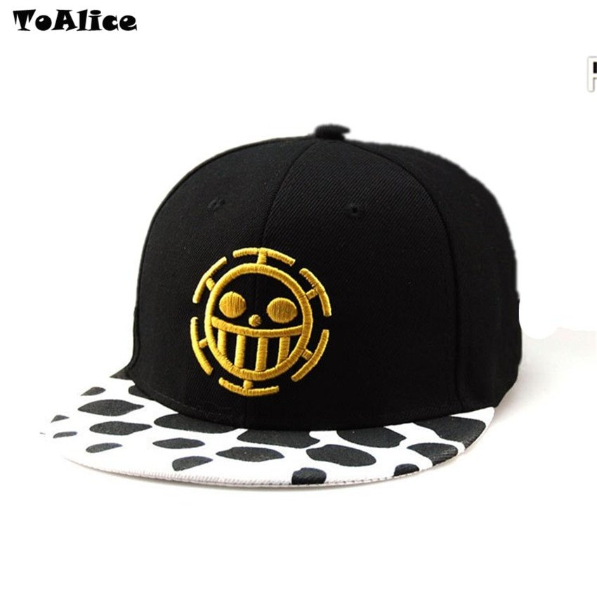 Wholesale Lots Anime One Piece Hat Baseball Cap Trafalgar Law Hats ... a27bbc8df44