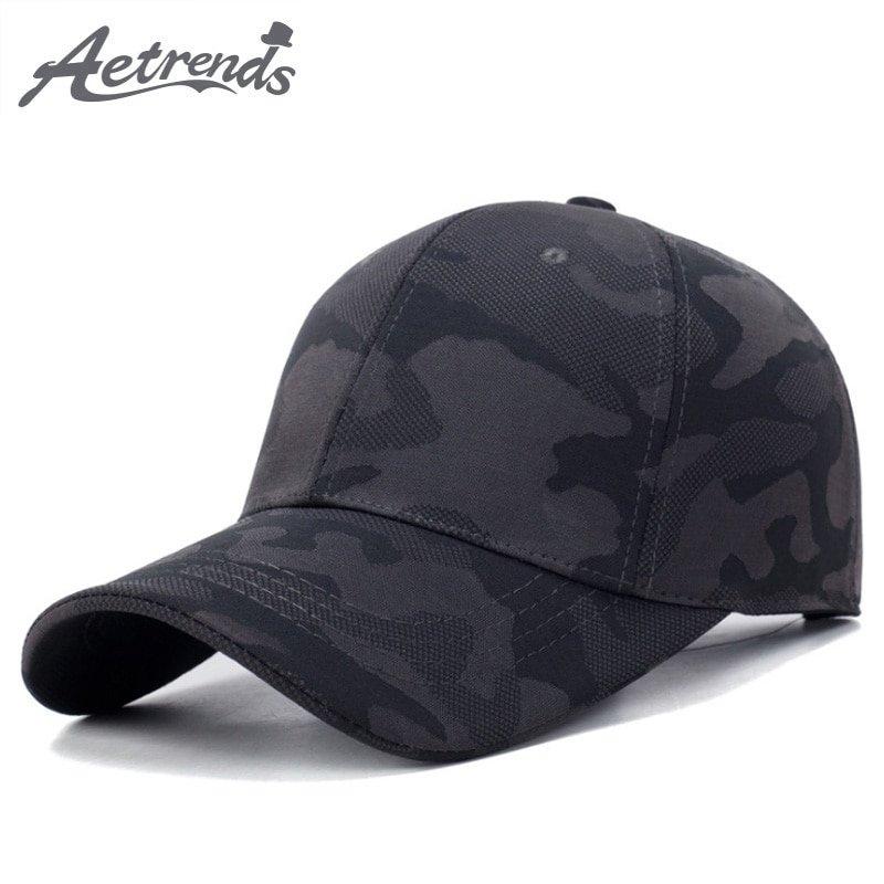 AETRENDS  Baseball cap camouflage summer hat 2018 camo cap men ... 2c558478d29