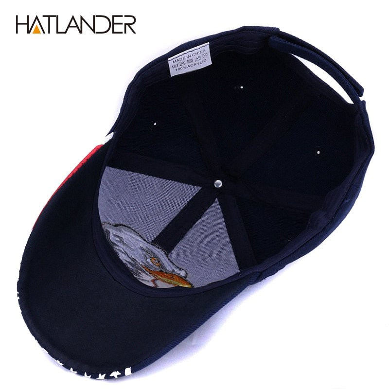 9878104c829 HATLANDER 2018 Spring summer baseball caps for men outdoor sun hat ...
