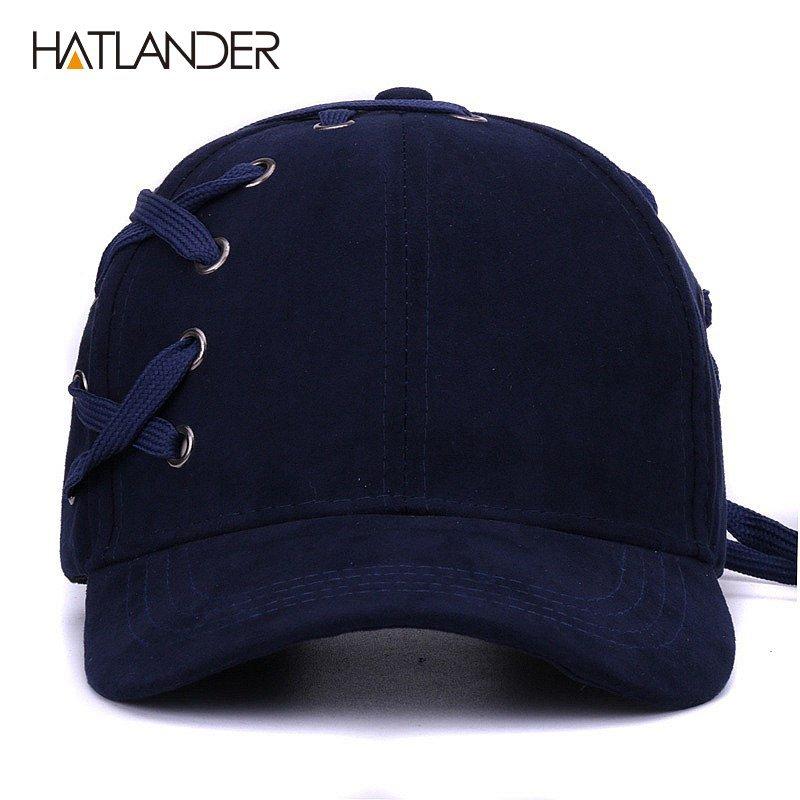 eda2f1952e2 HATLANDER Novelty shoelace baseball caps for women men hip hop ...