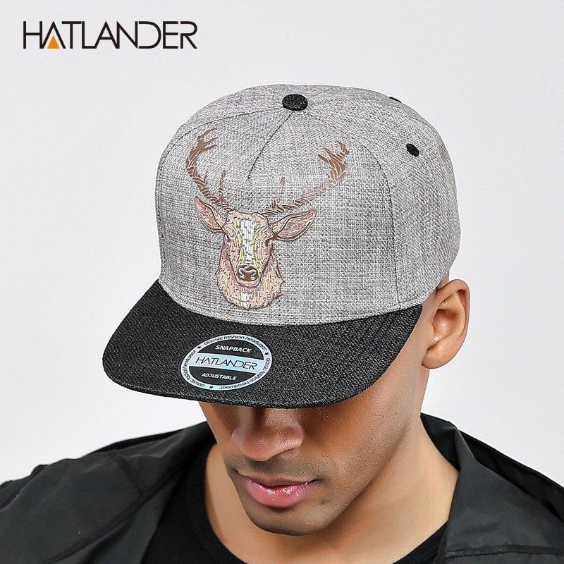 dbd1fe647aace5 ... snapback cap men hats vintage deer printing women baseball caps gorras  bone hip hop hat. Sale! 🔍. https://capshop.store/